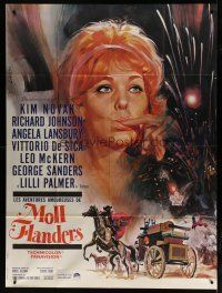 6k555 AMOROUS ADVENTURES OF MOLL FLANDERS style A French 1p '65 different Landi art of Kim Novak!
