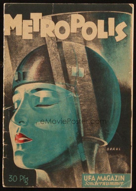 Book Cover Art Software : Emovieposter c metropolis german program book