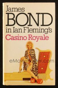 7d161 CASINO ROYALE 2nd Triad Panther printing English paperback book '81 James Bond by Fleming!