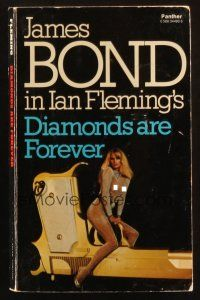 7d207 DIAMONDS ARE FOREVER 1st Triad Panther edition English paperback book '77 James Bond!