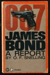 7d210 DOUBLE O SEVEN JAMES BOND A REPORT English paperback book '65 a critcal analysis of 007!
