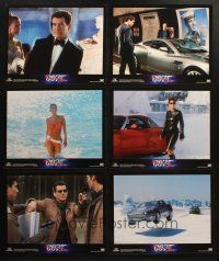 7d415 DIE ANOTHER DAY set of 10 LCs '02 Brosnan as James Bond, Halle Berry, Pike, Yune, Stephens