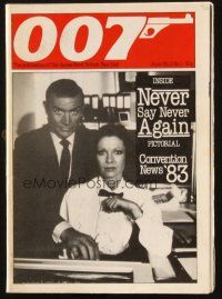 7d402 007 vol 2 no 1 English magazine June 1983 with Never Say Never Again pictorial!