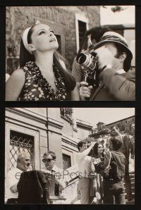 7h937 IF IT'S TUESDAY THIS MUST BE BELGIUM 2 7x9.5 stills '69 sexy Virna Lisi + cool candid!