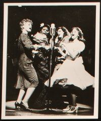 7h757 1940'S RADIO HOUR 4 stage play 8x10 stills '79 cool images from the Broadway musical!