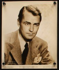 7h529 ALAN LADD 8 8x10 stills '40s-60s various portraits of the star, Calcutta, more!