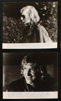 7h531 AND NOW THE SCREAMING STARTS 8 8x10 stills '73 great English horror images, Roy Ward Baker!