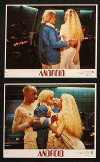 7h086 ANDROID 8 int'l 8x10 mini LCs '82 Klaus Kinski, Norbert Weisser, sexy images!