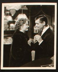 7h716 ANY NUMBER CAN PLAY 5 8x10 stills '49 Clark Gable w/ Alexis Smith, Eloise Hardt, gambling!