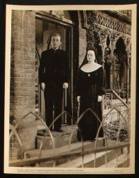 7h762 BELLS OF ST. MARY'S 4 8x10 stills '46 Ingrid Bergman w/ priest Bing Crosby, Ruth Donnelly!