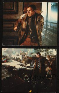 7h247 BLADE RUNNER 5 color 8x10 stills '82 Harrison Ford, Daryl Hannah & Hauer, sci-fi classic!