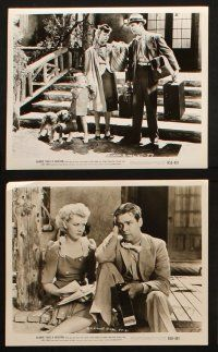 7h508 BLONDIE TAKES A VACATION 9 8x10 stills R50 Penny Singleton & Arthur Lake go to the country!