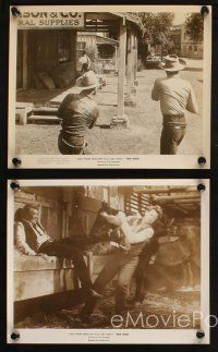 7h733 HIGH NOON 5 8x10 stills '52 great images of Gary Cooper & Lloyd Bridges fighting!