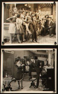 7h484 HOT FOR PARIS 10 8x10 stills '29 Raoul Walsh, Victor McLaglen, Fifi D'Orsay, El Brendel!