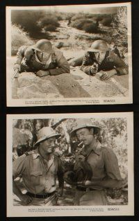7h333 IMPOSTOR 22 8x10 stills R50 Jean Gabin has the most violent life, Bayonet Charge!