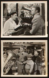 7h790 IN THE GOOD OLD SUMMERTIME 4 8x10 stills '49 great images of Van Johnson & Judy Garland!