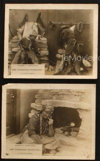 7h852 INHERITED PASSIONS 3 8x10 stills '16 cool images from George P. Hamilton's silent western!