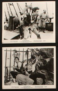 7h403 JACK THE GIANT KILLER 14 8x10 stills '62 Kerwin Mathews, cool fantasy images!