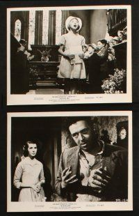 7h354 JACQUELINE 19 8x10 stills '56 really cool images of John Gregson & Kathleen Ryan!