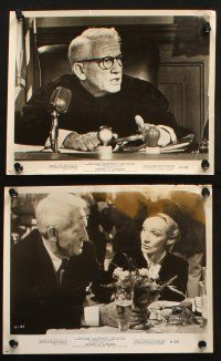 7h345 JUDGMENT AT NUREMBERG 20 8x10 stills '61 many with judge Spencer Tracy & Richard Widmark!