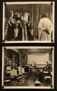7h485 KING OF KINGS 10 horizontal 8x10 stills '61 Nicholas Ray Biblical epic, Viveca Lindfors!