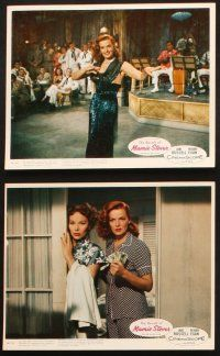 7h010 REVOLT OF MAMIE STOVER 12 color 8x10 stills '56 super sexy Jane Russell & Agnes Moorehead!