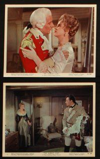 7h023 SCARLET COAT 12 color 8x10 stills '55 Cornel Wilde & Anne Francis, directed by John Sturges!