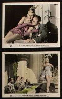 7h077 SHE'S WORKING HER WAY THROUGH COLLEGE 10 color 8x10 stills '52 Virginia Mayo, Ronald Reagan!