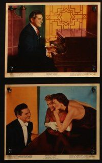 7h032 SINCERELY YOURS 12 color 8x10 stills '55 famous pianist Liberace, Joann Dru, Dorothy Malone