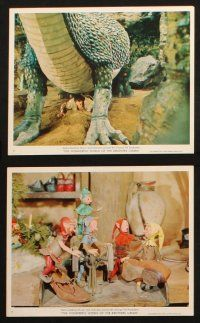 7h039 WONDERFUL WORLD OF THE BROTHERS GRIMM 11 color 8x10 stills '62 Harvey, George Pal fairy tales