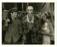 8h202 CIRCUS CLOWN 8.25x10 still '34 Joe E. Brown, Patricia Ellis & Westcott in clown makeup!