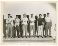 8h205 CITY ACROSS THE RIVER 8x10.25 still '49 best lineup of top stars including young Tony Curtis