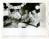 8h219 CLOCKWORK ORANGE deluxe 8x10 still '72 Malcolm McDowell & his droogs sitting in milk bar!