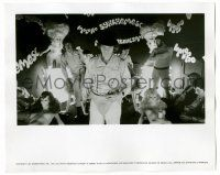 8h218 CLOCKWORK ORANGE deluxe 8x10 still '72 Malcolm McDowell & his droogs leaving milk bar!
