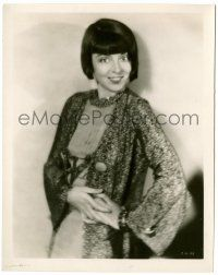 8h221 COLLEEN MOORE 8x10 still '20s full-length smiling portrait modeling a pretty outfit!