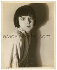 8h222 COLLEEN MOORE deluxe 8x10 still '20s wonderful close portrait with shadows by Russell Ball!