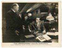 8h225 CONSPIRATORS 8x10.25 still '44 close up of Sidney Greenstreet & Peter Lorre!
