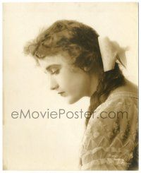 8h226 CONSTANCE TALMADGE deluxe 7.75x9.75 still '20s great head & shoulders profile portrait!