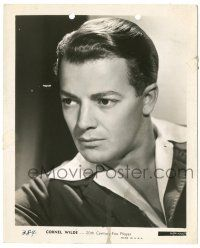 8h229 CORNEL WILDE 8x10 key book still '40s great youthful head & shoulders portrait!