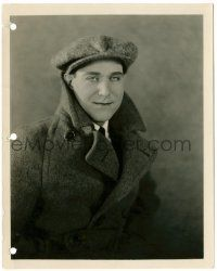 8h236 DAVID BUTLER deluxe 8x10 still '20s great close portrait of the actor/director in coat & hat!