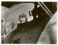8h239 DAWN PATROL 7.25x9.75 still '38 best close up of pilot Errol Flynn in his airplane!