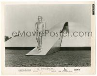 8h241 DAY THE EARTH STOOD STILL 8x10.25 still '51 best image of Gort disembarking his UFO!