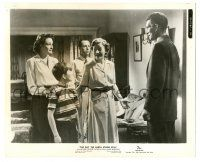 8h244 DAY THE EARTH STOOD STILL 8x10.25 still '51 Michael Rennie with Patricia Neal & Billy Gray!