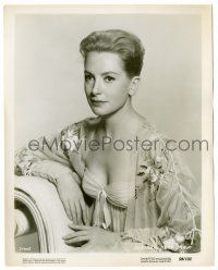 8h247 DEBORAH KERR 8.25x10.25 still '59 c/u in sexy low-cut dress from Count Your Blessings!