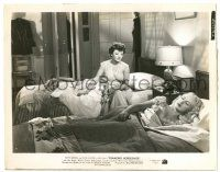 8h253 DIAMOND HORSESHOE 8x10.25 still '45 Beatrice Kay watches Betty Grable asleep in bed!