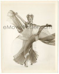 8h263 DOLORES GRAY 8x10.25 still '55 full-length in wild dress & headpiece from Kismet!