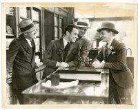 8h266 DOORWAY TO HELL 8x10.25 still '30 James Cagney & drugstore clerk smiling at each other!