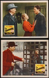 8y976 GUNFIGHTER 2 LCs R52 western cowboy Gregory Peck as Johnny Ringo & Helen Westcott!