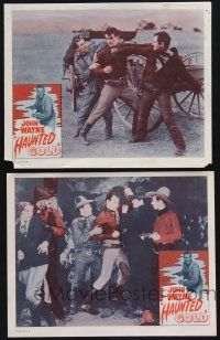 8y977 HAUNTED GOLD 2 LCs R56 cool images of western cowboy John Wayne & gorgeous Sheila Terry!