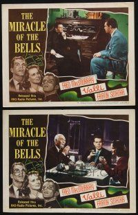 8y983 MIRACLE OF THE BELLS 2 LCs '48 Frank Sinatra, pretty Alida Valli & Fred MacMurray